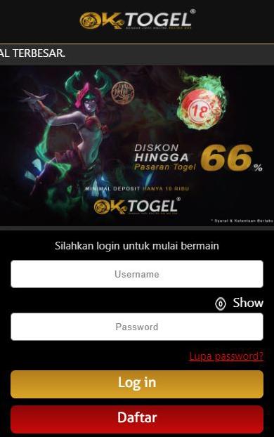 Situs Togel Terpercaya Dan Terlengkap Di Indonesia